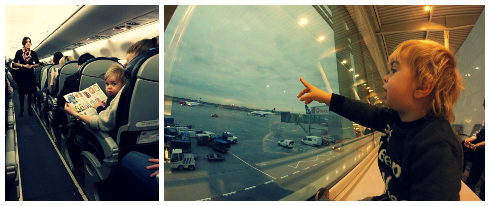 na lotnisku_ paryz z dzieckiem