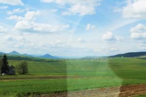 Rumuńskie krajobrazy zapierają dech w piersiach. Mi przypominało tu krainę Teletubisiów :))
