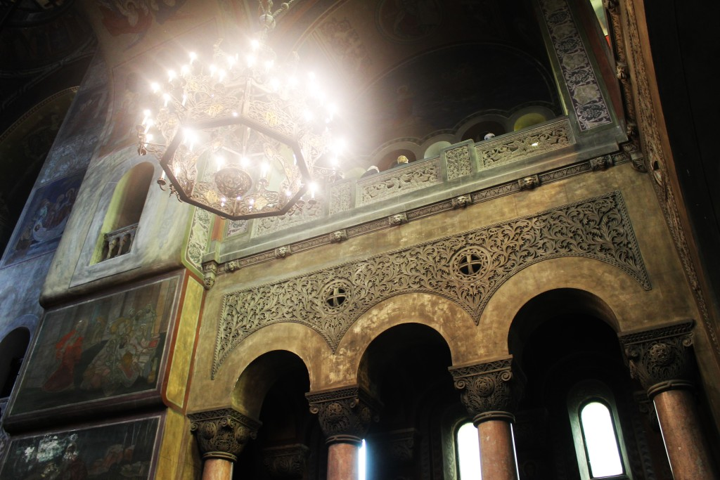 piękne wnętrze Catedrala Adormirea Maicii Domnului