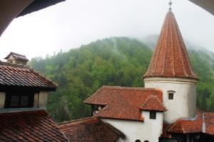 Zamek Bran- reklamowany (niesłusznie) jako siedziba Drakuli aż do lat