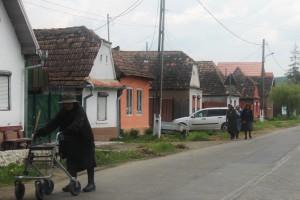 wioska w Transylwanii