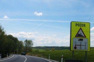 Pozor Pozor!Przejazd przez Słowację jest w tym miejscu niesamowicie malowniczy.