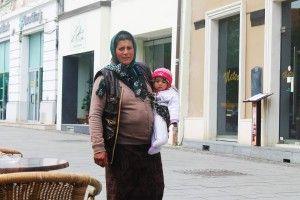 widok jak w Polsce, czyli najbiedniejsza klasa w Rumunii, Romowie