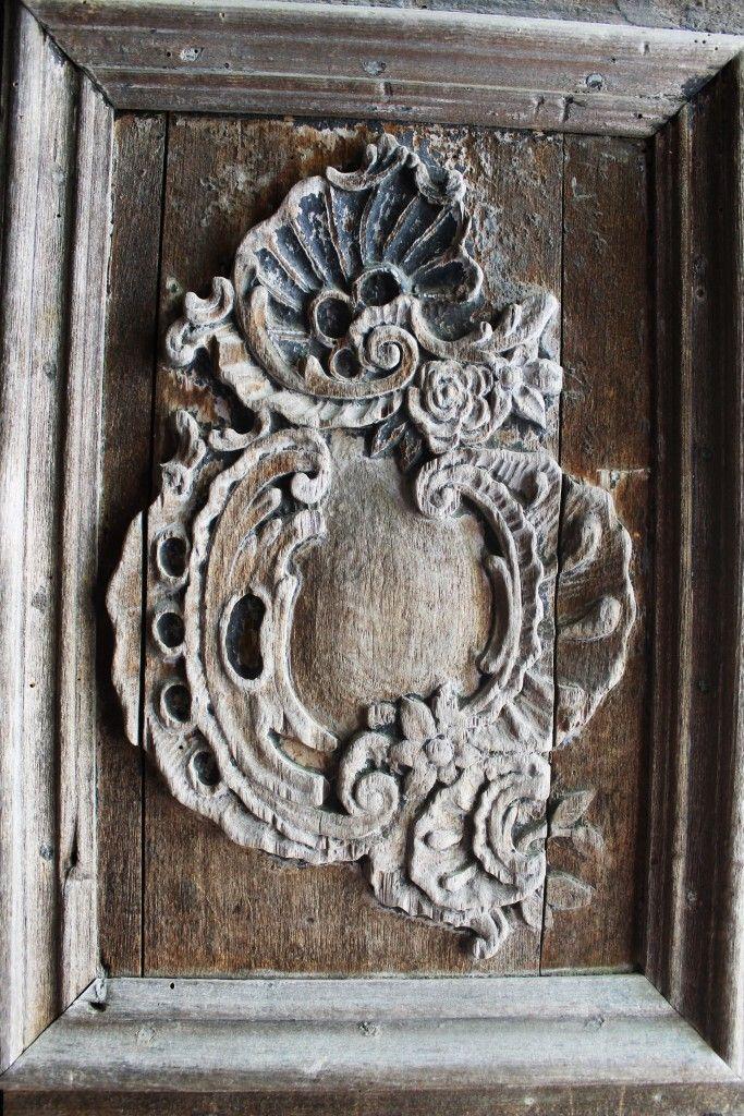 detal z drzwi kościoła obronnego Biertan